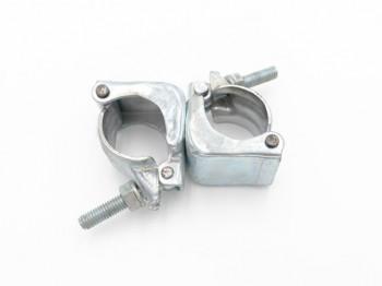 Raccord orientable acier embouti (49x49mm) Lot de 5 pièces