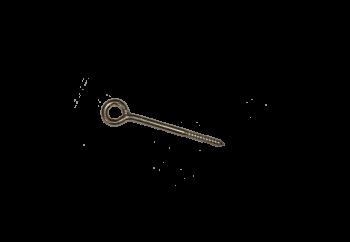 Crochet d'ancrage ou pitons diamètre 12mm 160 - Lot de 10 pièces