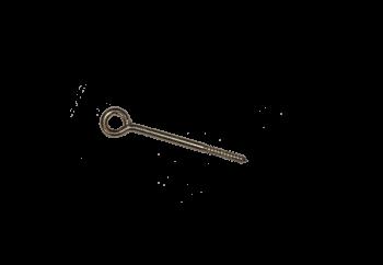 Crochet d'ancrage ou piton diamètre 12mm 190 - Lot de 10 pièces