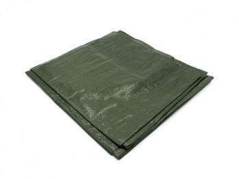 Bâche de protection 150g avec oeillets - Vert