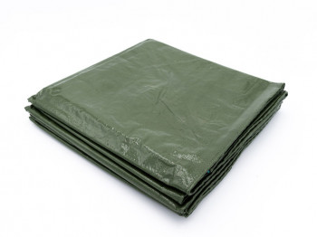 Bâche de protection 250g avec oeillets - Vert