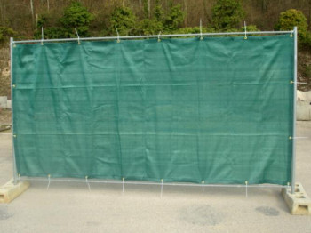 Filet de barrière de chantier 180g/m²