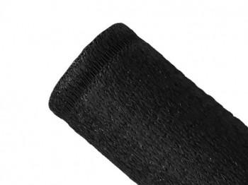 Brise-vue 100% - Noir - 230gr/m² - Boutonnières