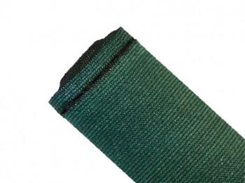 Brise-vue 90% - Vert/noir - 185gr/m² - Boutonnières