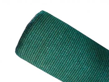 Brise-vue 90% - Vert/noir - 185g/m² - Sans boutonnières - Sur mesure