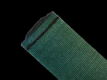 Brise-vue 90% - Vert/noir - 185g/m² - Boutonnières