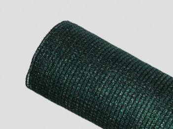 Brise-vue 90% - Vert/noir - 185g/m² - Sans boutonnières