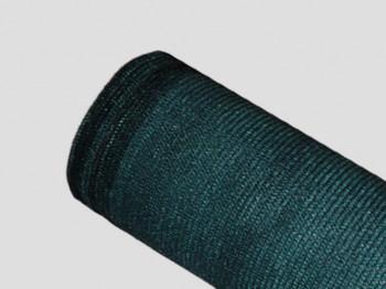 Brise-vue 85% - Vert/Noir - 130g/m² - Boutonnières