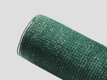 Brise-vue 80% - Vert/Noir - 115g/m² - Sans boutonnières