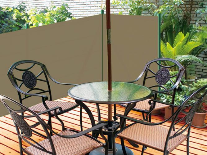 Brise-vue 90% - Granit - 185g/m²